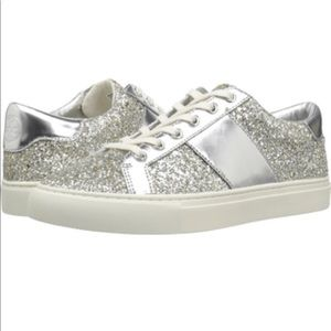 Tory Burch Carter Glitter Sneakers